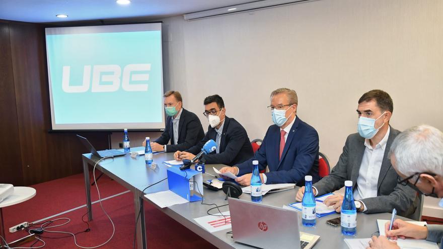 UBE avanza en la recuperación poscovid con la amenaza del alza en los costes