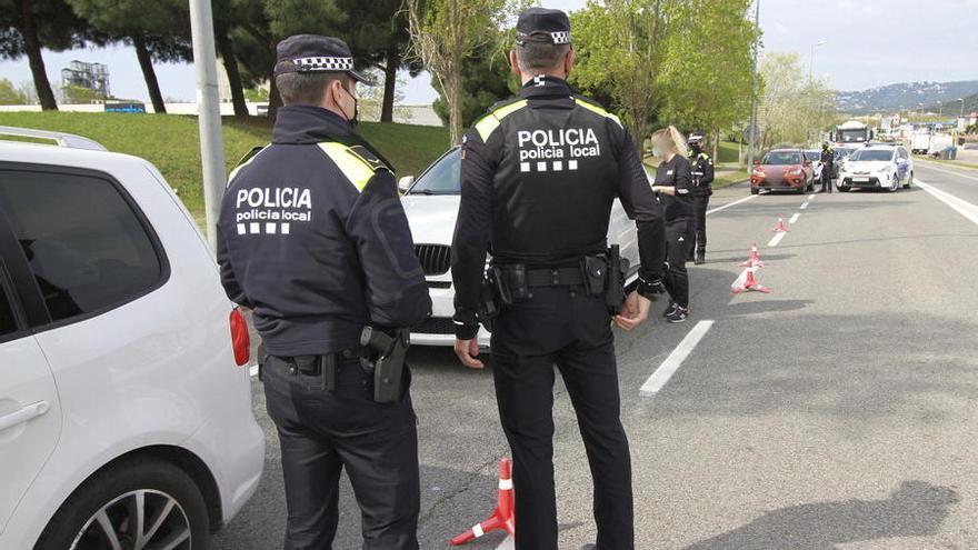 La Policia de Blanes aixeca 328 actes Covid durant l'abril