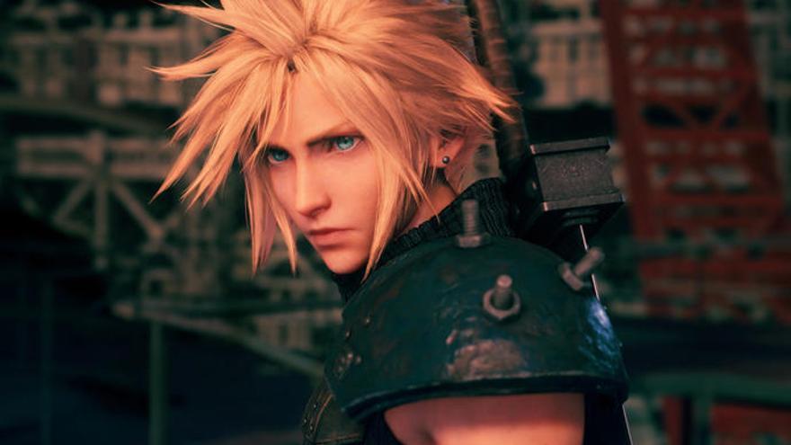 Square Enix revela la carátula de 'Final Fantasy VII Remake'