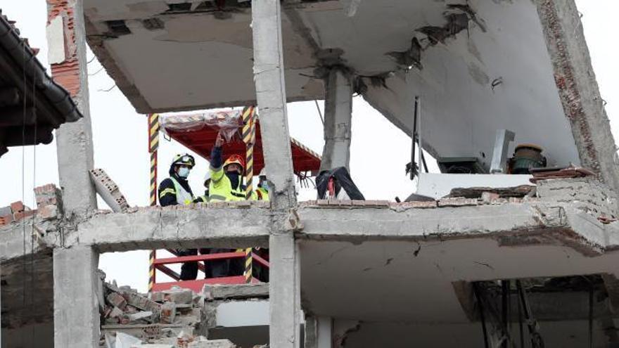 Las cuatro víctimas de la explosión de la calle Toledo de Madrid