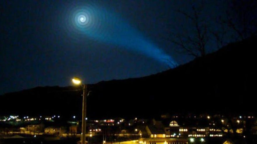 Vecinos de Miami confunden un misil con un OVNI