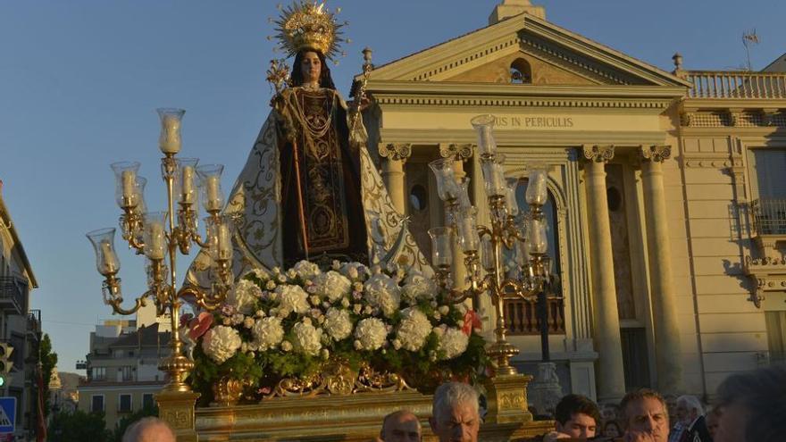 La Virgen del Carmen sale en procesión esta tarde en Murcia por primera vez tras la pandemia