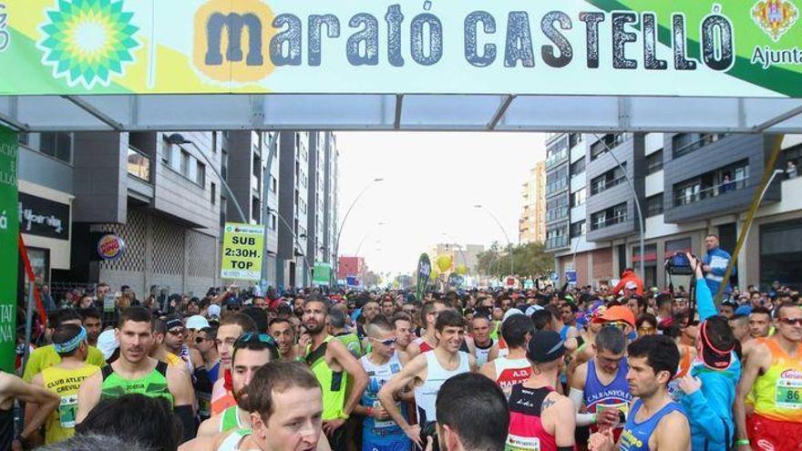 La VIII edición del Maratón de Castellón será el 18 de febrero del 2018