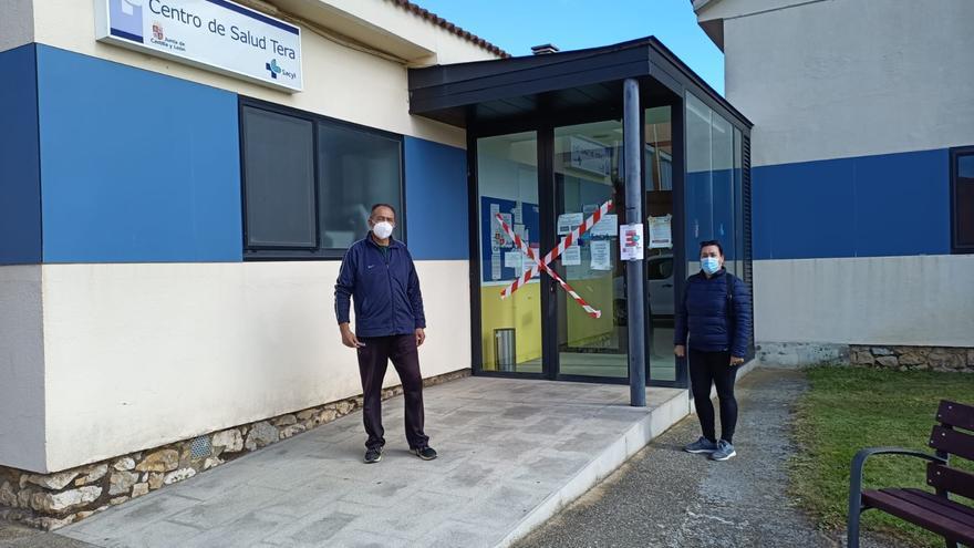 Protestas ante los consultorios médicos por una sanidad rural digna en la comarca de Benavente