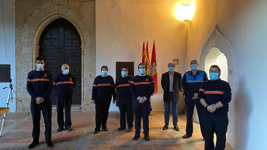 """Protección Civil, """"Cofrade de honor"""" de la Semana Santa de Toro"""