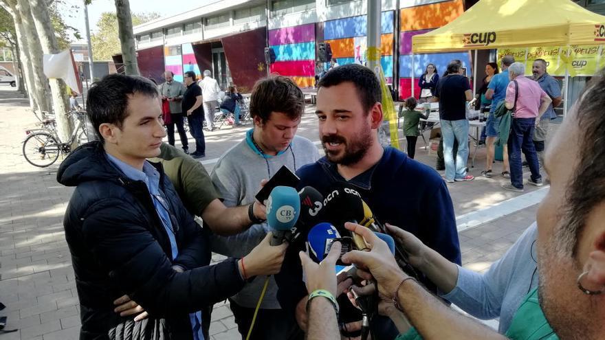 La CUP treballarà per «no consolidar» el govern de Torra