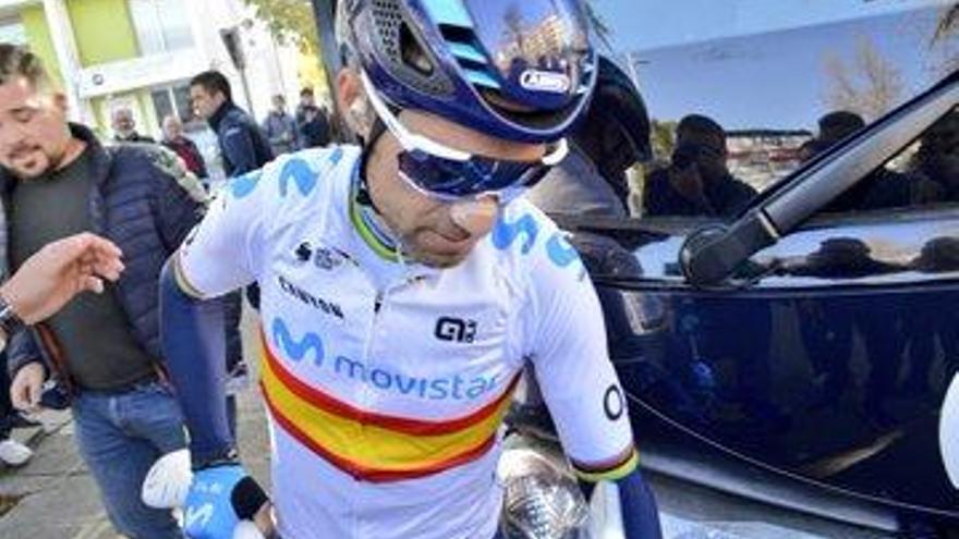 Pogacar se impone a Valverde en la segunda etapa y es nuevo líder