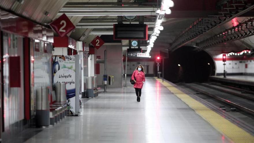 Renfe instala un sistema de control de aforo para evitar aglomeraciones en Cercanías