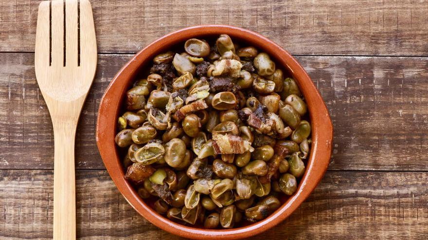 El pollo a l'ast y las habas a la catalana ya se cocinaban hace 2.600 años