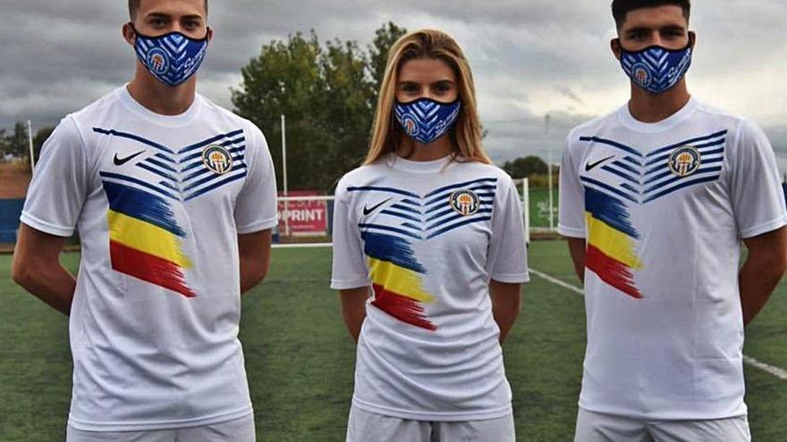 El Nàstic portarà la bandera andorrana a les samarretes