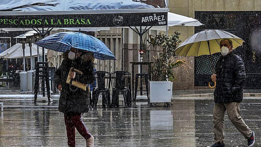 El tiempo en Alicante: fin de semana inestable con nubes y lluvias