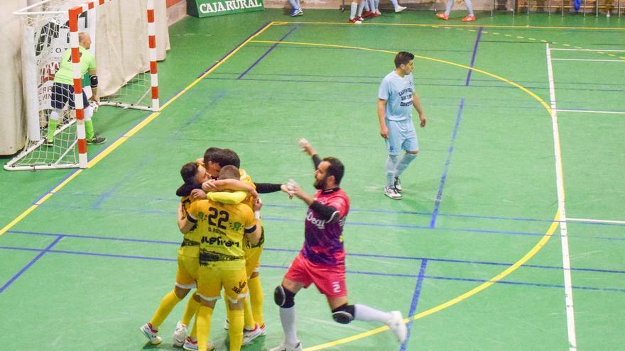 El River Zamora consigue los tres primeros puntos de su historia en Tercera División