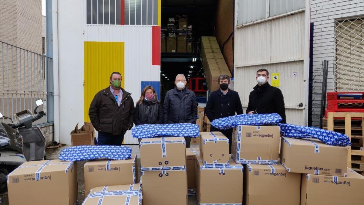 Impulso logra comprar 208 juguetes para niños de familias desfavorecidas