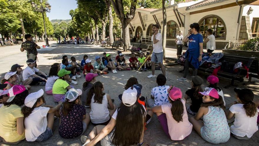 """Los """"Franciscanos"""" piden actividades infantiles en el Campo San Francisco todos los fines de semana"""