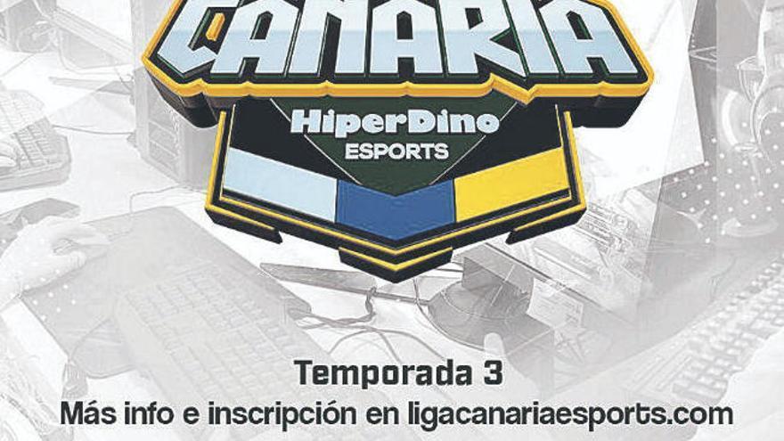 Casi 300 torneos en la Liga Canaria de Esports HiperDino