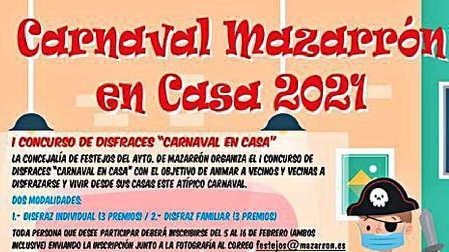 Mazarrón también vive un Carnaval en casa