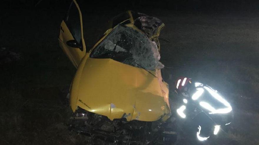 Muere un joven de 23 años en un accidente de tráfico cerca de Pedroche