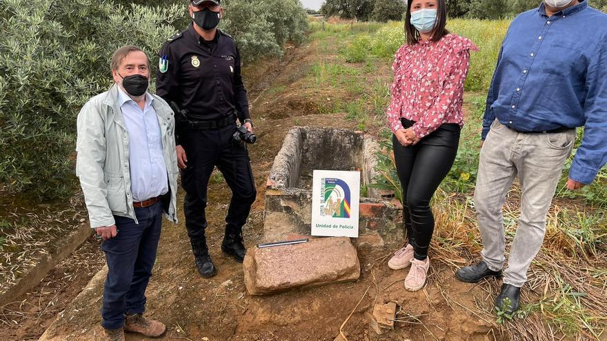 Localizan en Algallarín un herma del siglo I