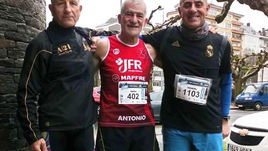 Antonio Riera acaba cuarto en la XVL Monumental de Lugo
