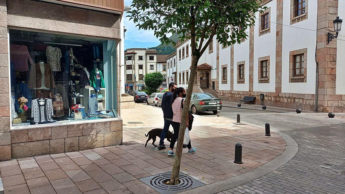 Aspecto de la calle José González Soto tras las obras.   María Villoria