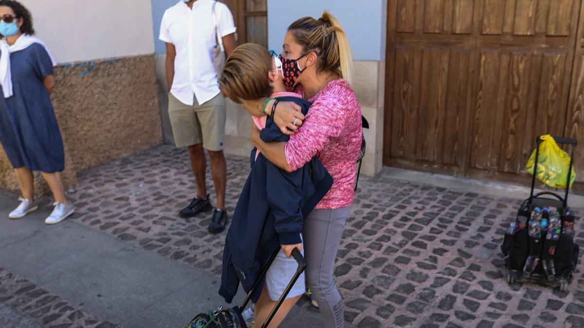 GALERÍA | La vuelta al cole en Zamora en el año del coronavirus, en imágenes