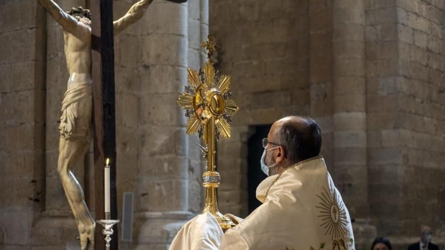 Toro celebra este domingo el Corpus Christi con una procesión claustral en la Colegiata