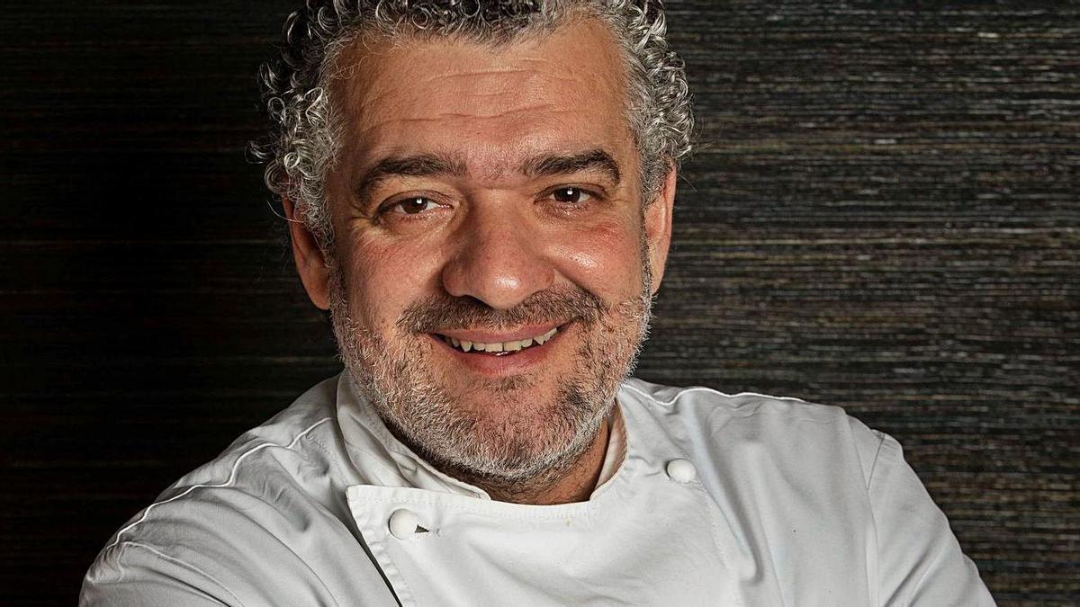 El cocinero Dani Carnero