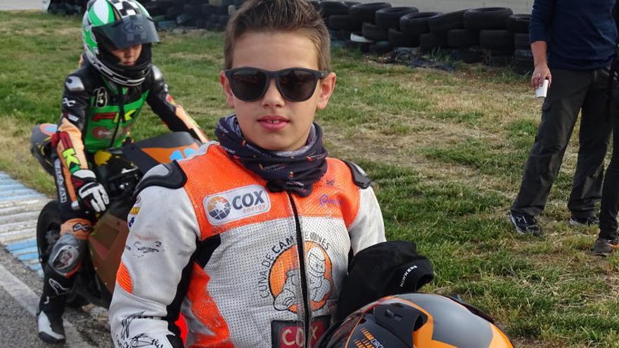 Alberto Ferrández, madera de campeón con 9 años