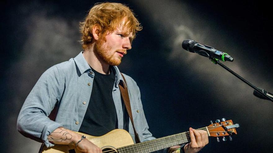 El cantante Ed Sheeran aparca su carrera musical