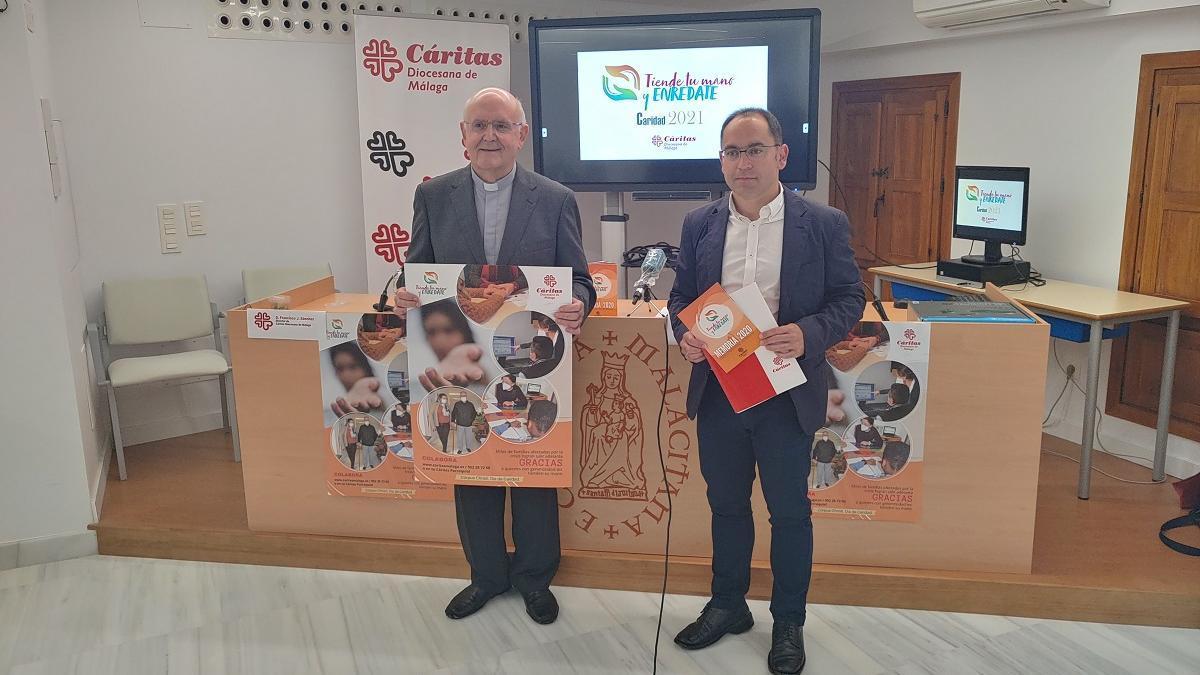 Antonio Collado y Francisco José Sánchez, este jueves en la presentación