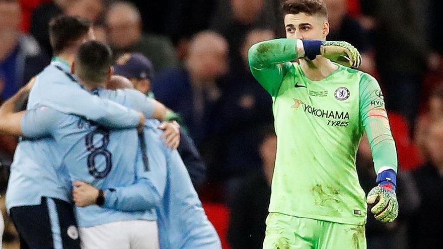 El Chelsea sanciona a Kepa sin una semana de sueldo