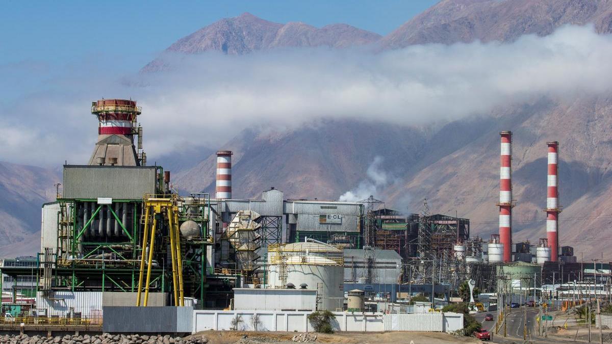 Imagen de una central termoeléctrica