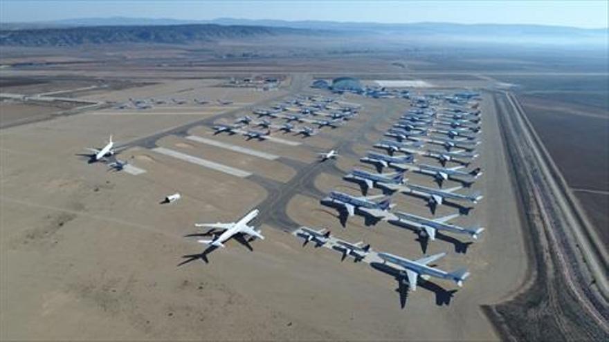La construcción del hangar del aeropuerto de Teruel costará 20 millones