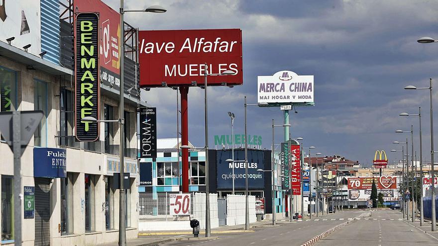 Valencia dobla la densidad comercial de las principales regiones europeas