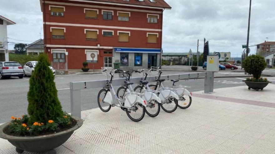 El préstamo de bicis de Avilés se suspende el lunes por la mañana para actualizar el programa de gestión