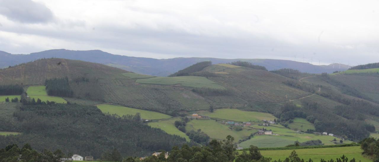 Un paisaje asturiano.