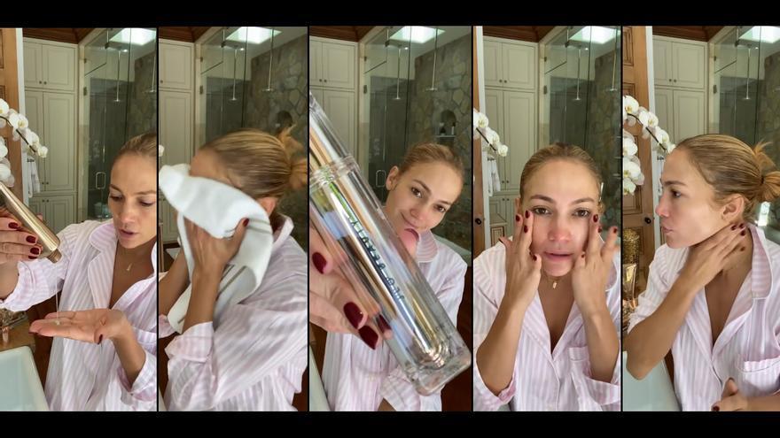 Así se cuida la piel Jennifer Lopez, contado por ella misma