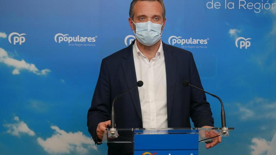 """Joaquín Segado: """"Si tiene nombres de cargos del PP que los diga"""""""