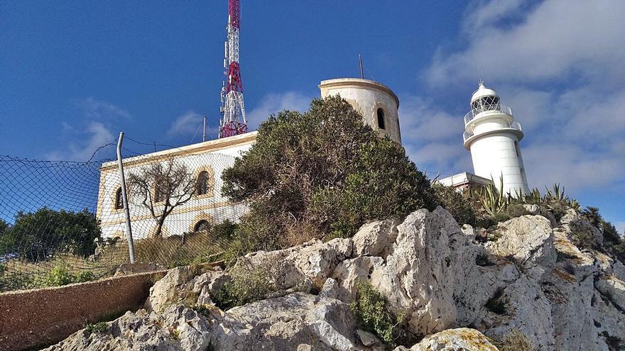 El proyecto para rehabilitar el faro del cabo de Sant Antoni de Xàbia estará listo en marzo