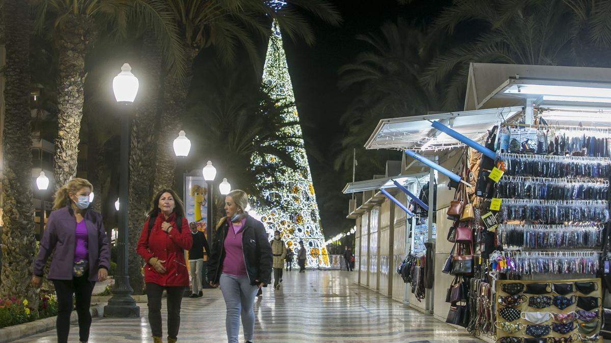 Navidad 2020 en Alicante: Así son las luces navideñas y el alumbrado para estas Navidades
