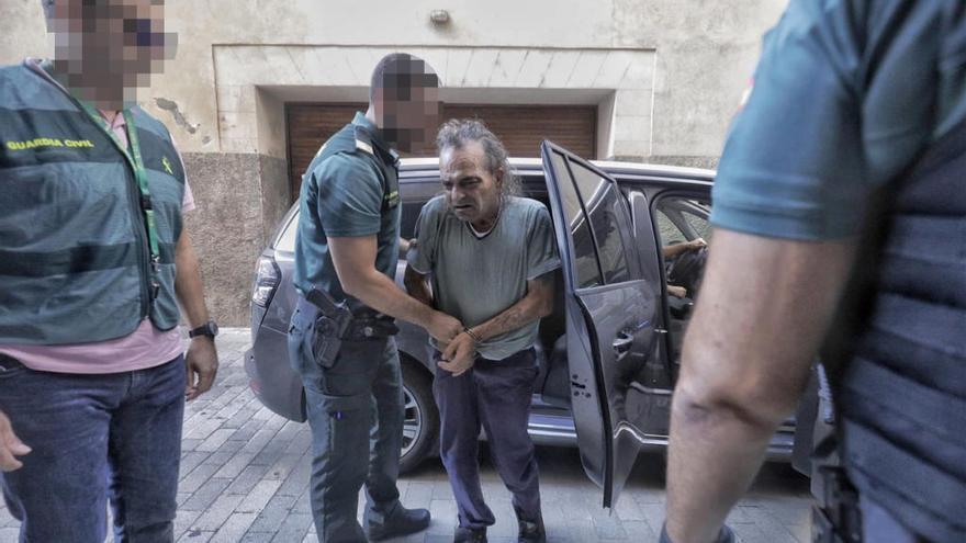 El detenido por el asesinato de la Colònia de Sant Jordi, ante la jueza