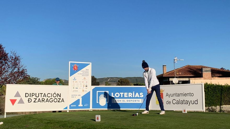 Calatayud acoge desde el jueves el Campeonato de España de golf masculino de profesionales