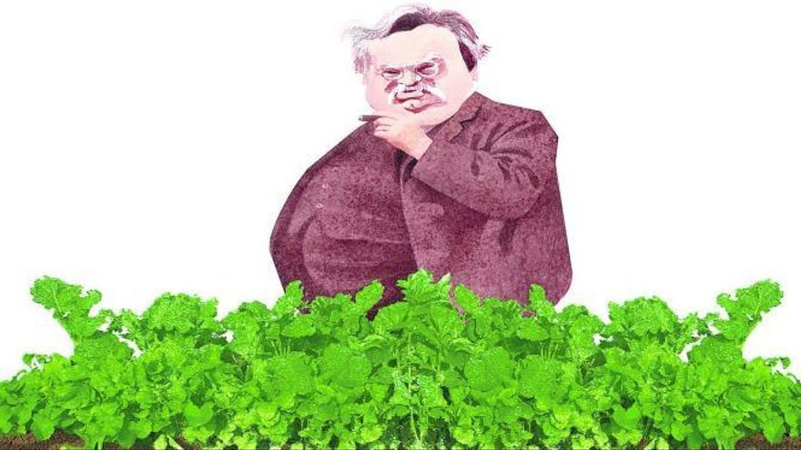 En el jardín de Chesterton abundan las coles