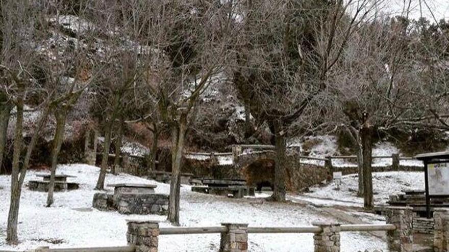 La ola de frío polar trae nieve a Castellón