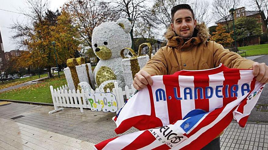 Marcos Landeira, candidato a entrenar al juvenil del Sporting