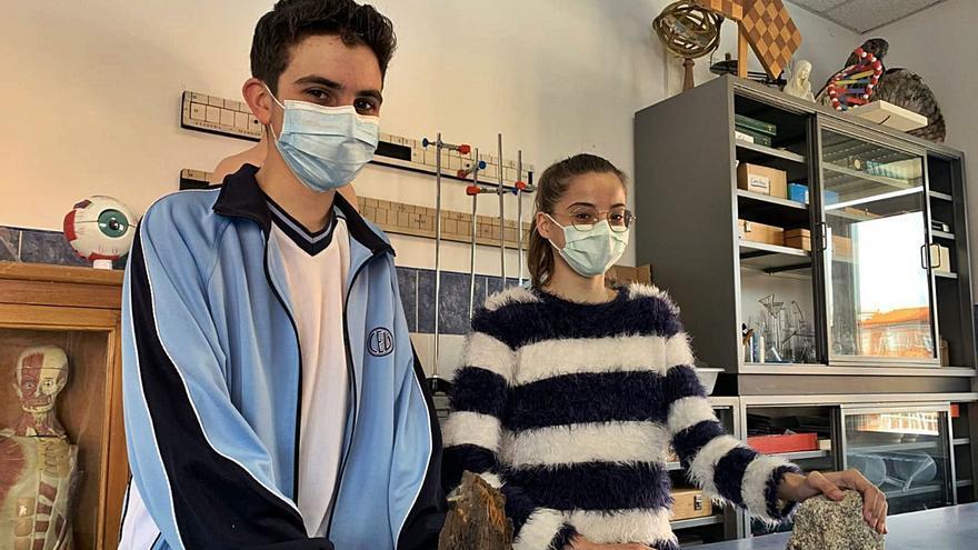 Dos alumnos del colegio San Vicente de Paúl de Benavente, ganadores de la Olimpiada Geológica