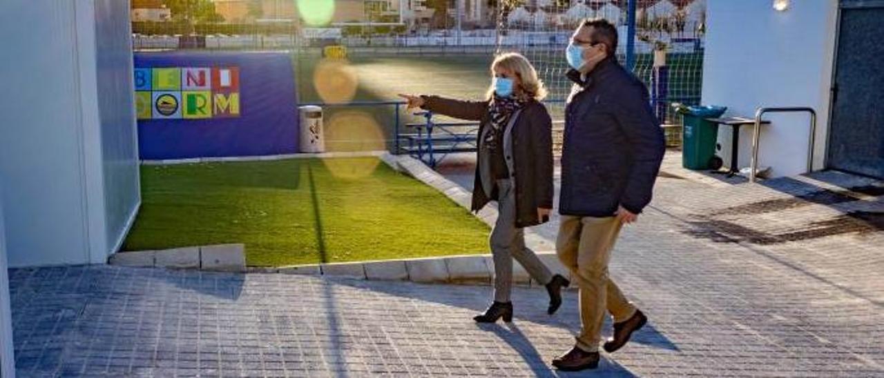 Toni Pérez y Mariló Cebreros en una foto de archivo.