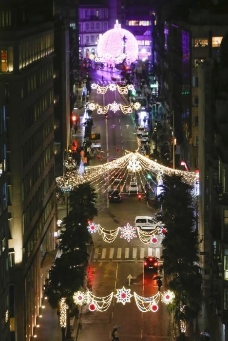La Navidad de Vigo, desde 62 metros