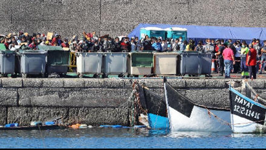 Llegada de migrantes a Canarias en las últimas 24 horas