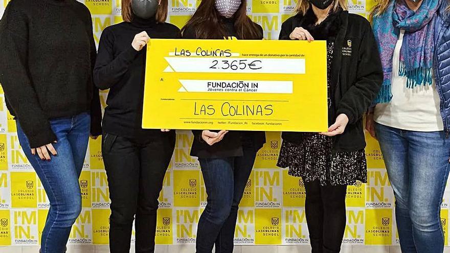 La Cursa Solidaria de Las Colinas logra 2.365 € para la lucha contra el cáncer